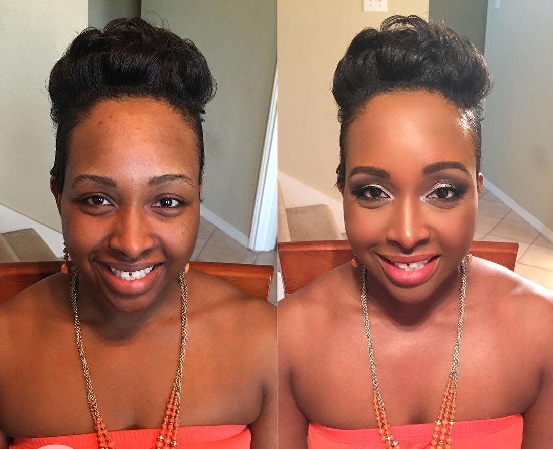 natural fancy bob hairstyle for black girl