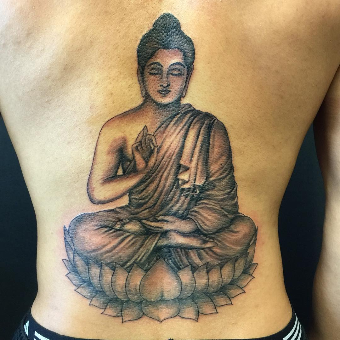 Marvelous Buddhist Tattoo