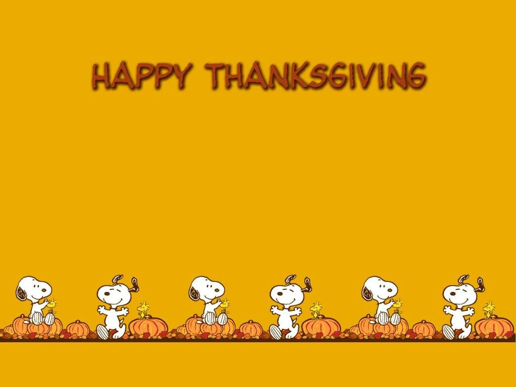 Snoopy Thankgiving Wallpaper
