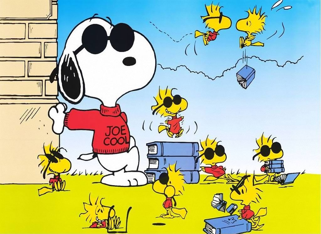 Snoopy Woodstock Background