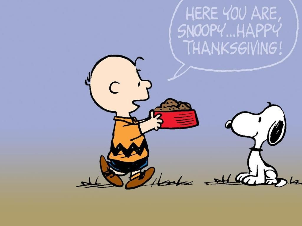 Snoopy Thanksgiving Background