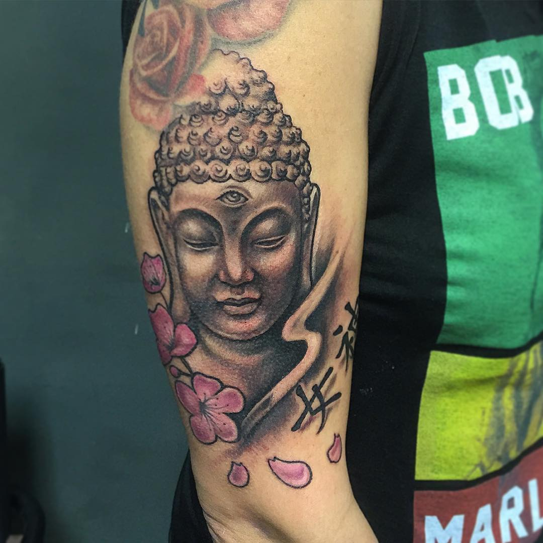 God Buddha Tattoo