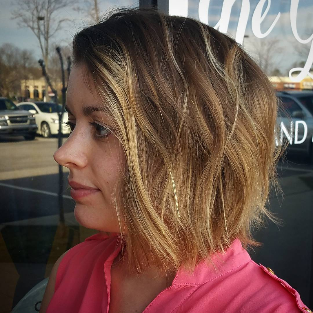 Blunt Textured Bob Haircut For Girls