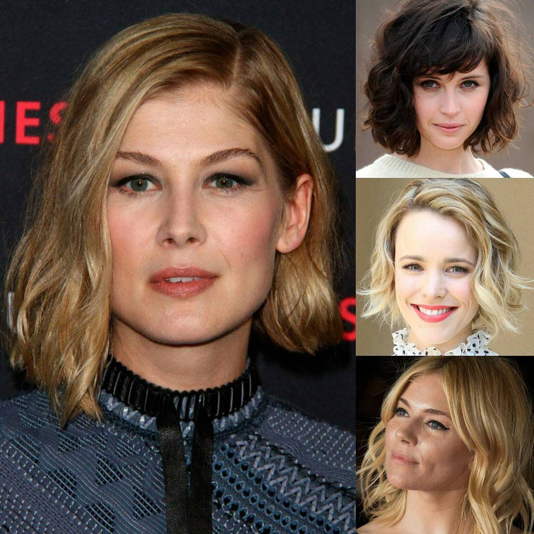 Popular Celebrities Short Bob Hairstyle