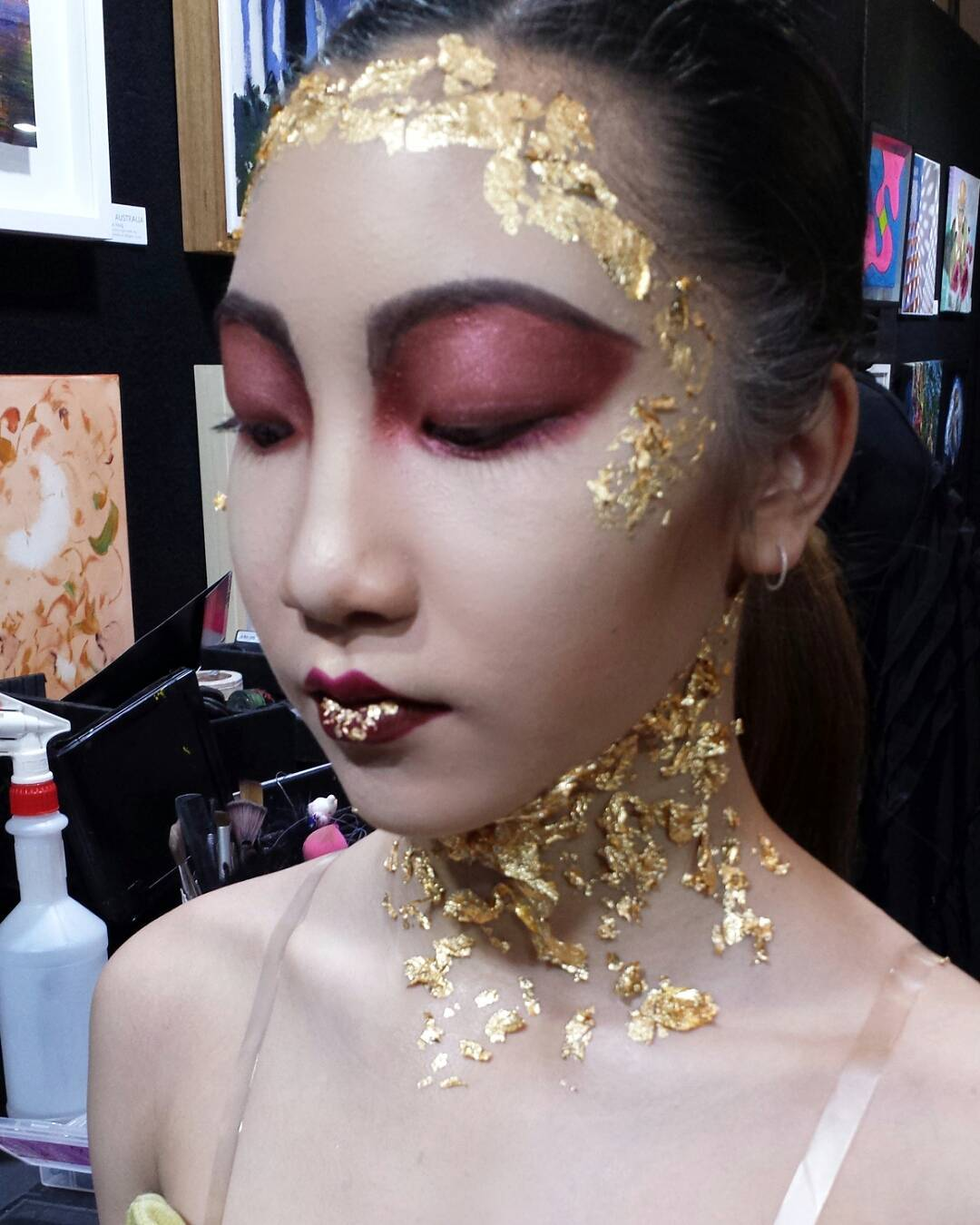 avant grade makeup art avant garde meets arabic
