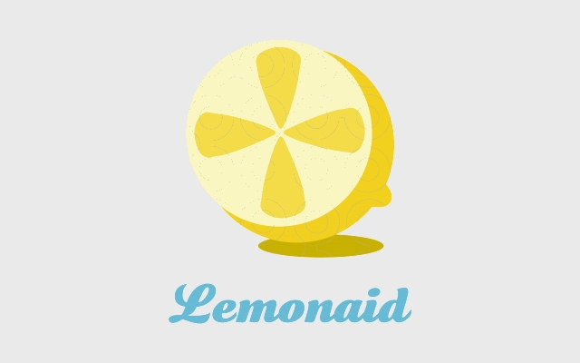 beautiful lemon logo