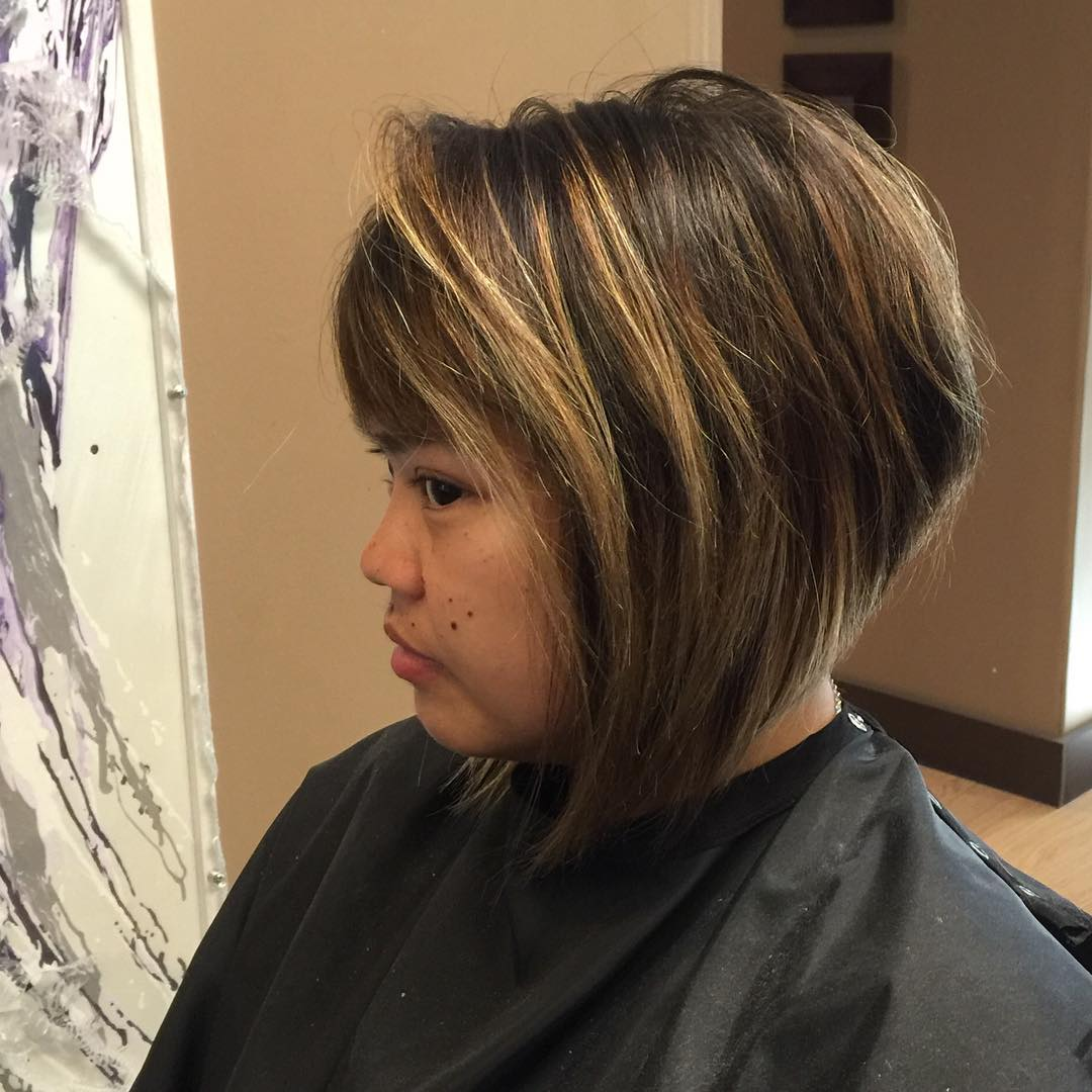 Long Graduated Bob Hairstyle For Women