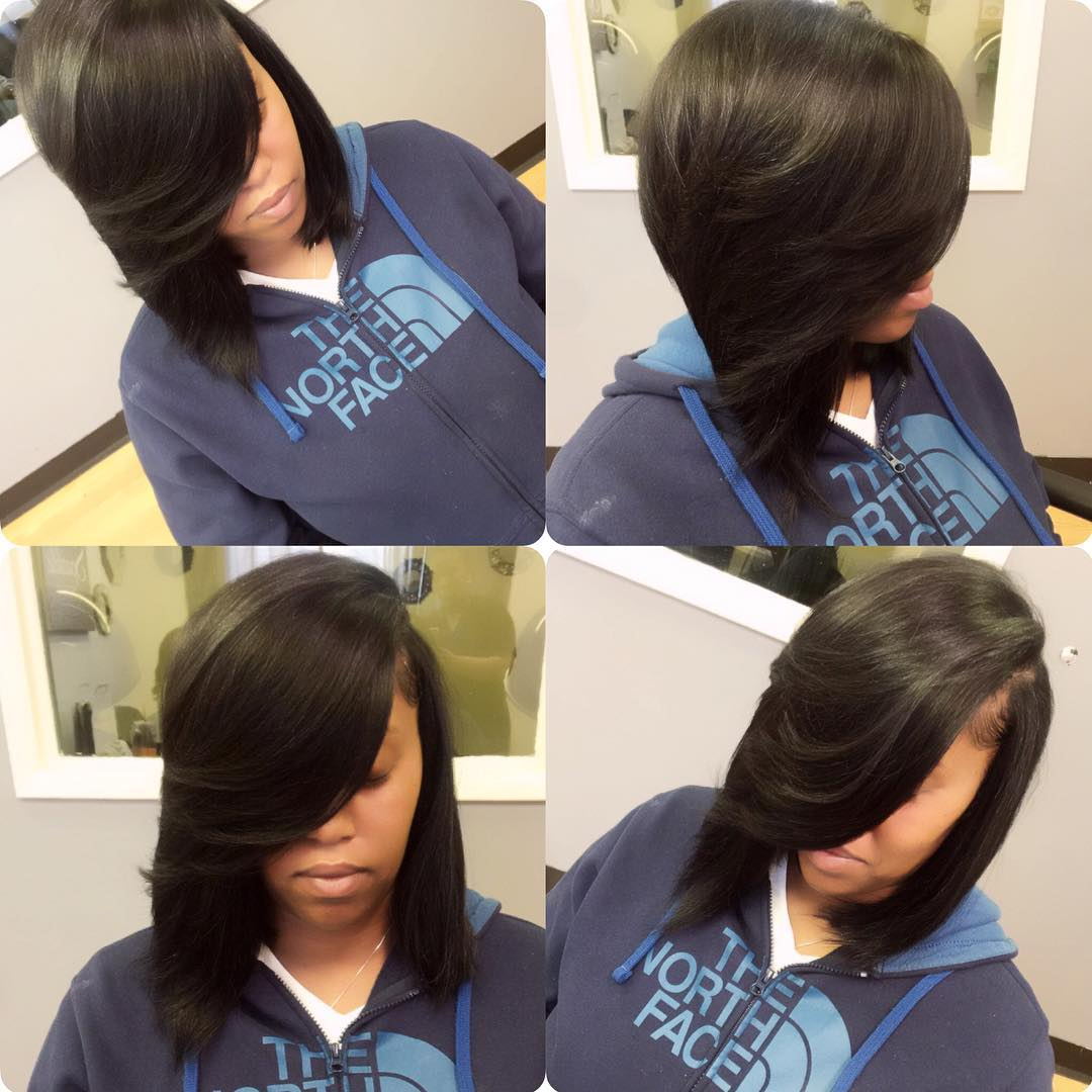 Easy Quick Weave Bob Hairscut Idea