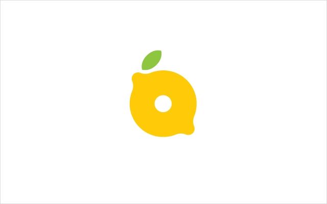 green and yellow letter lemon logo