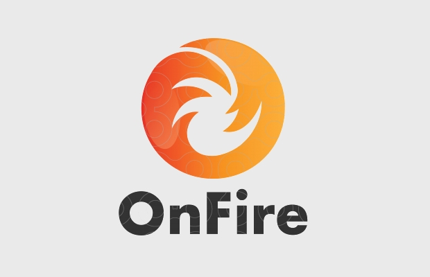 Abstract Flame Logo