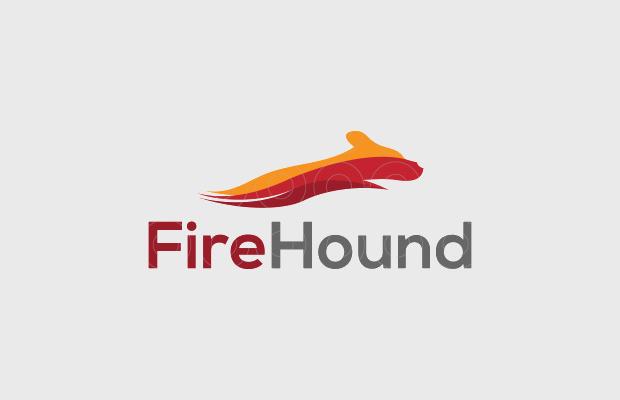 fire animal logo design