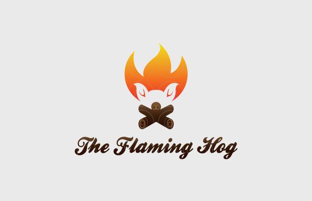 fire logo design for restaurants