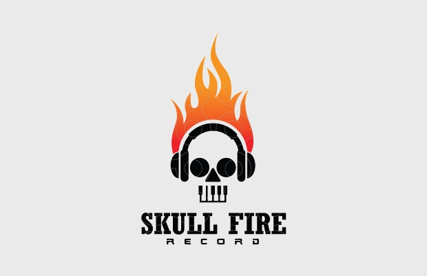 flame logo for recording music