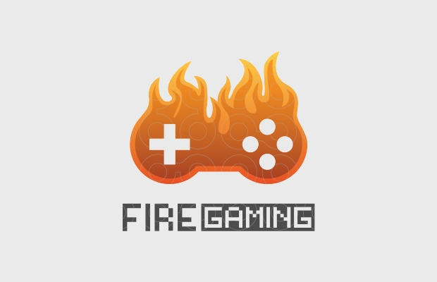 Fire Game Logo Image