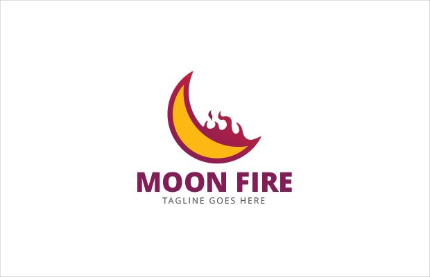 universe fire logo design