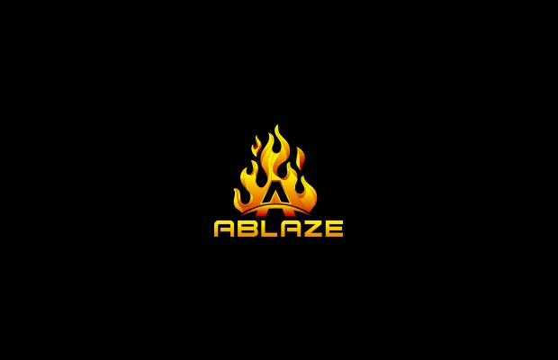 fire sports logo design