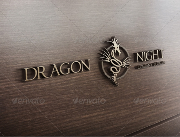 Devil Dragon Logo Design