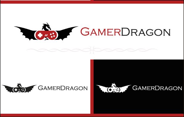 dragon logo for games