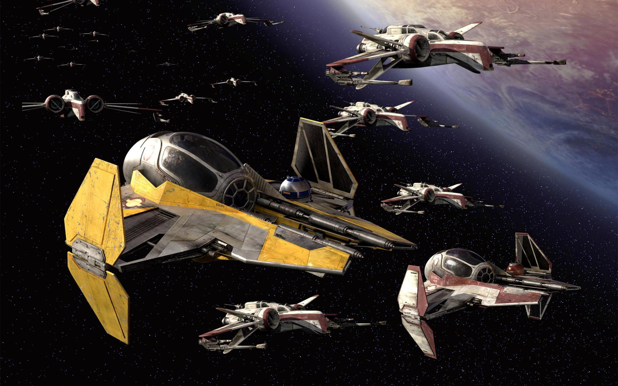 Star Wars Ship Wallpaper