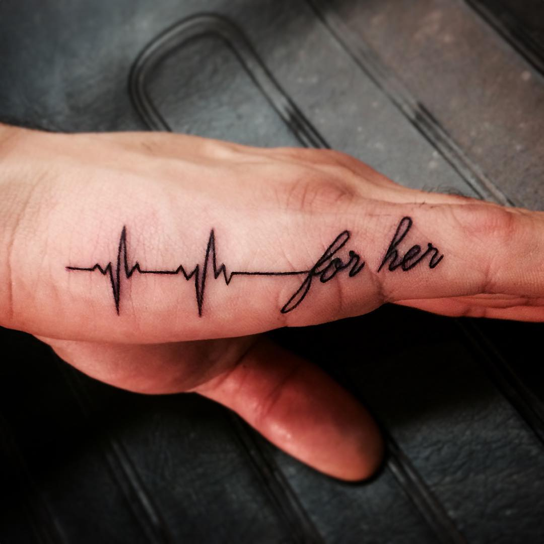 latest tattoo design for finger