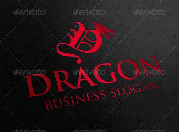 dragon business logo