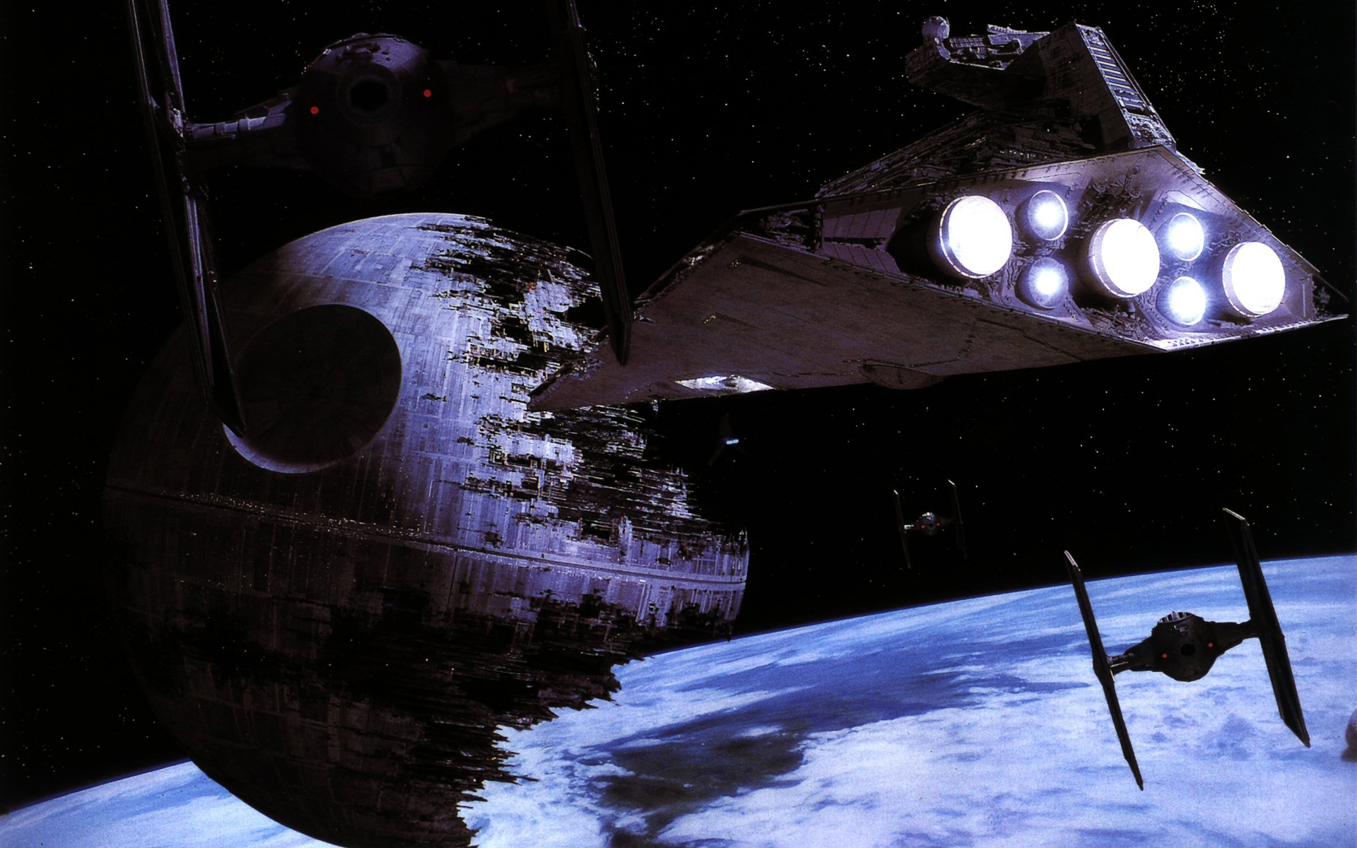 Star Wars Ship Background