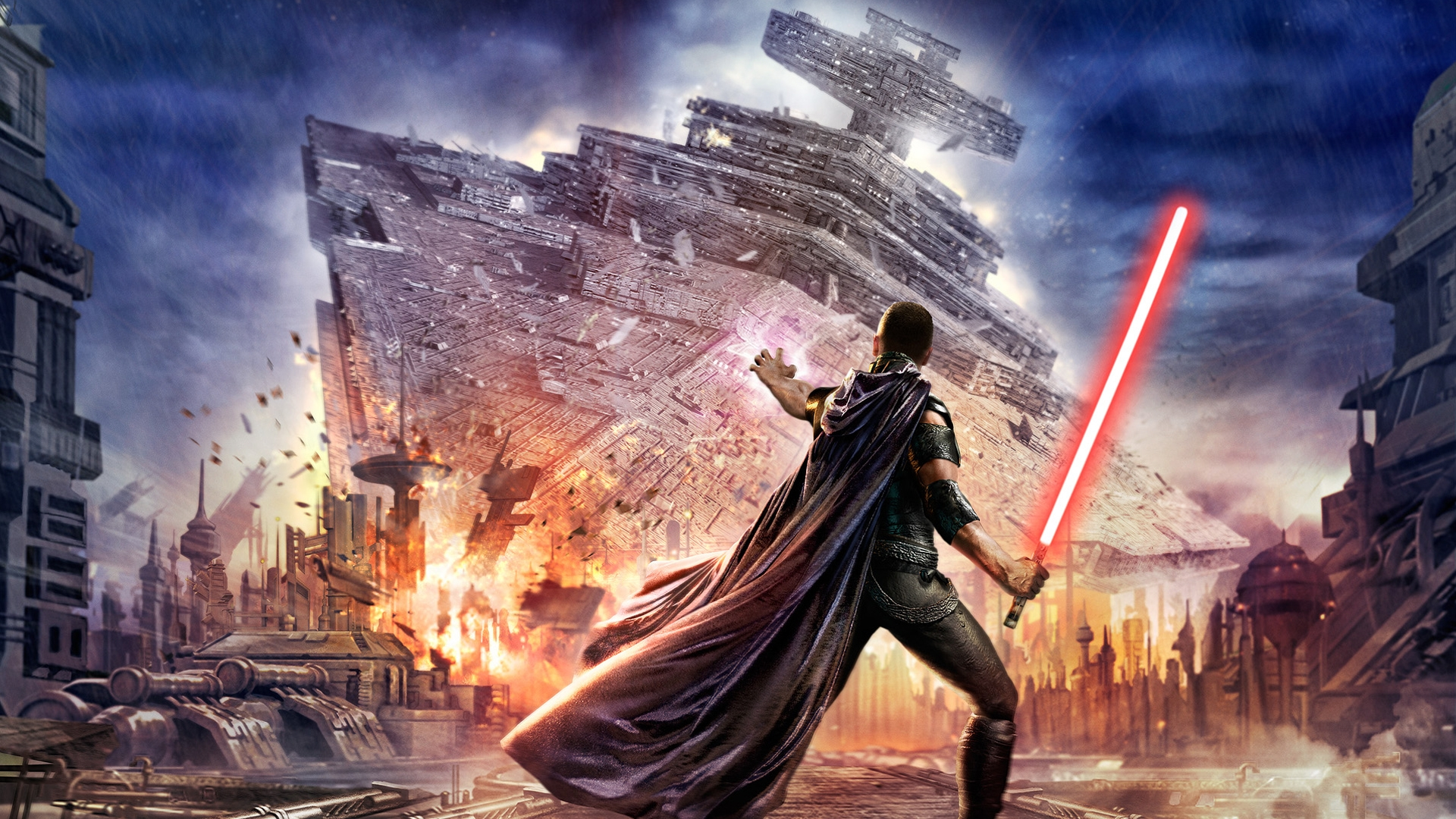 star wars video game wallpaper