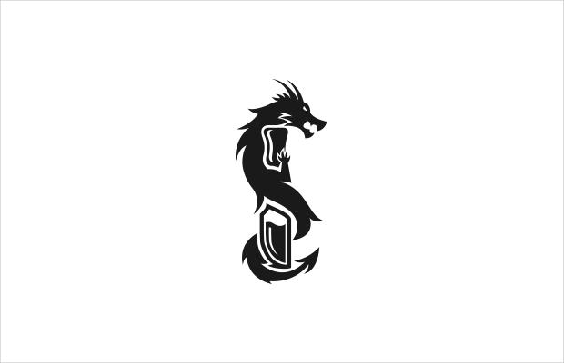 electronic dragon logo