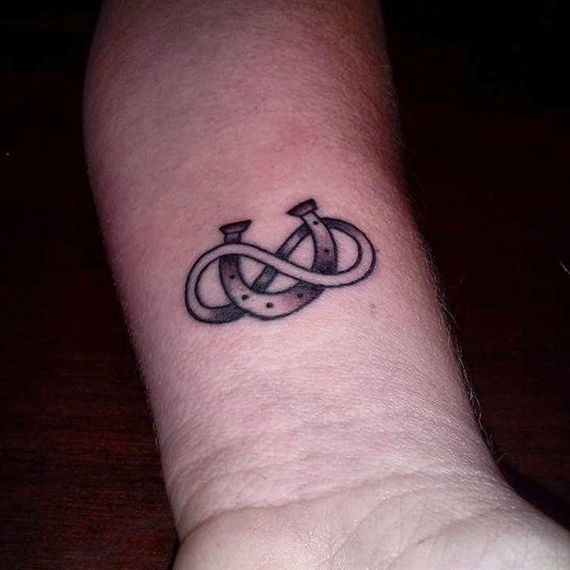 Amazing Infinity Tattoo For Men