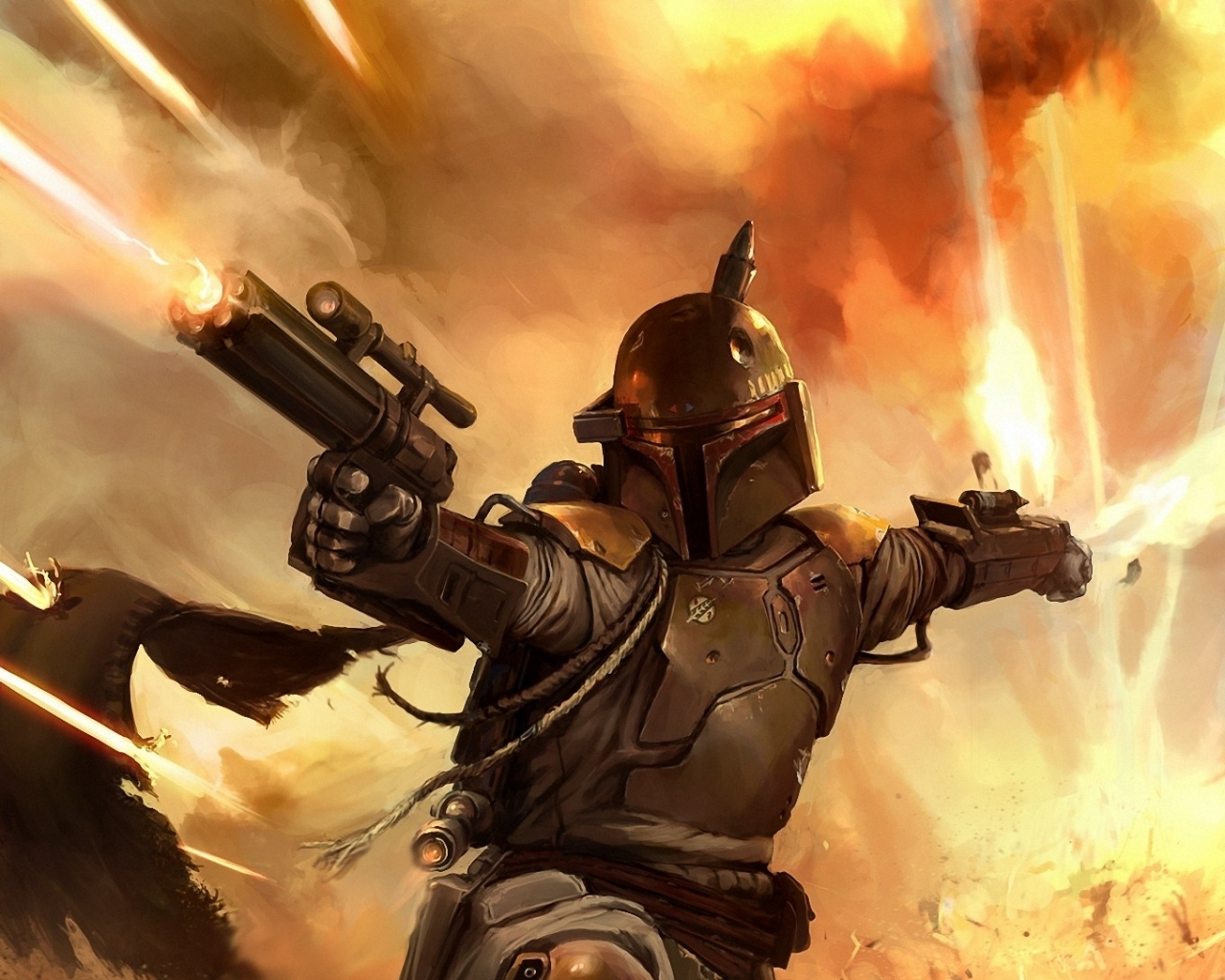 Star Wars Boda Fett Wallpapers