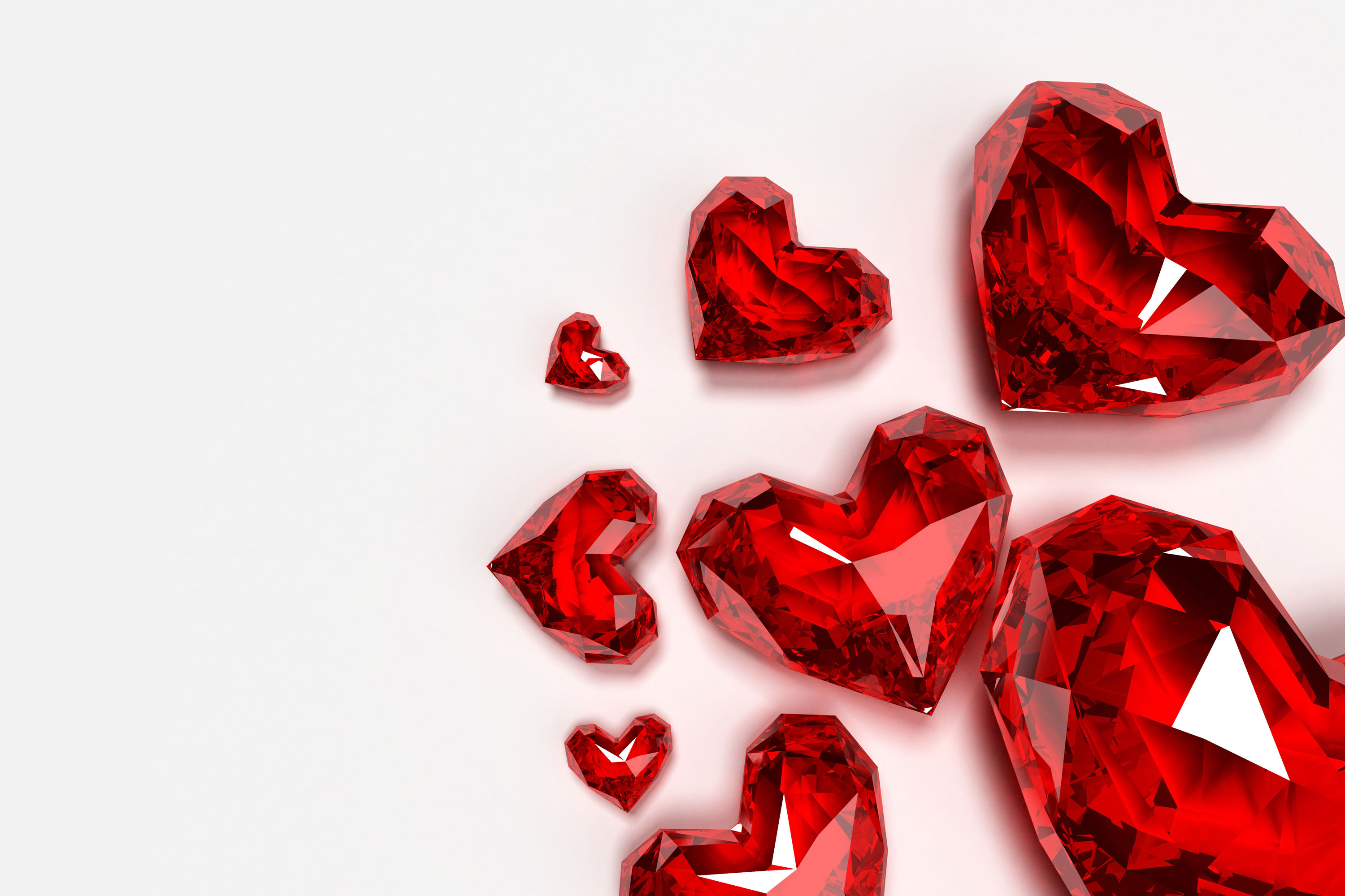 Love Shaped Diamond WallPapers