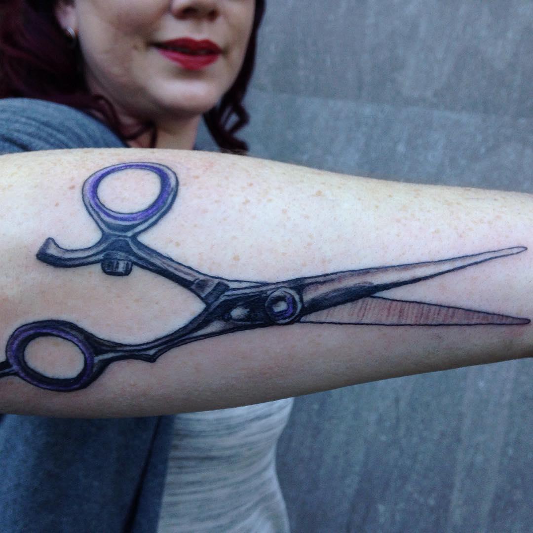 Ceaser Forearm Tattoo