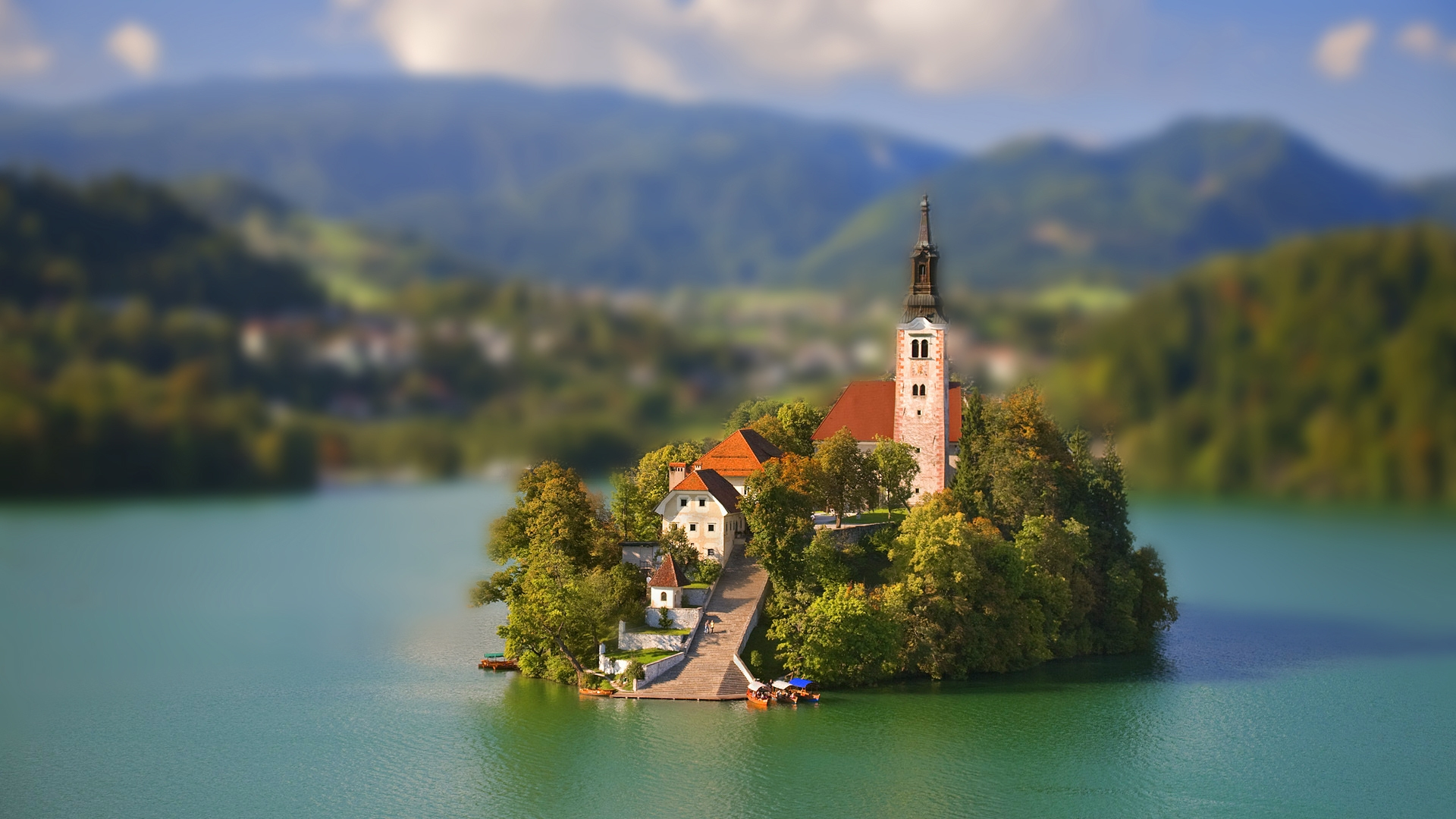 Tilt Shift Photography Wallpaper