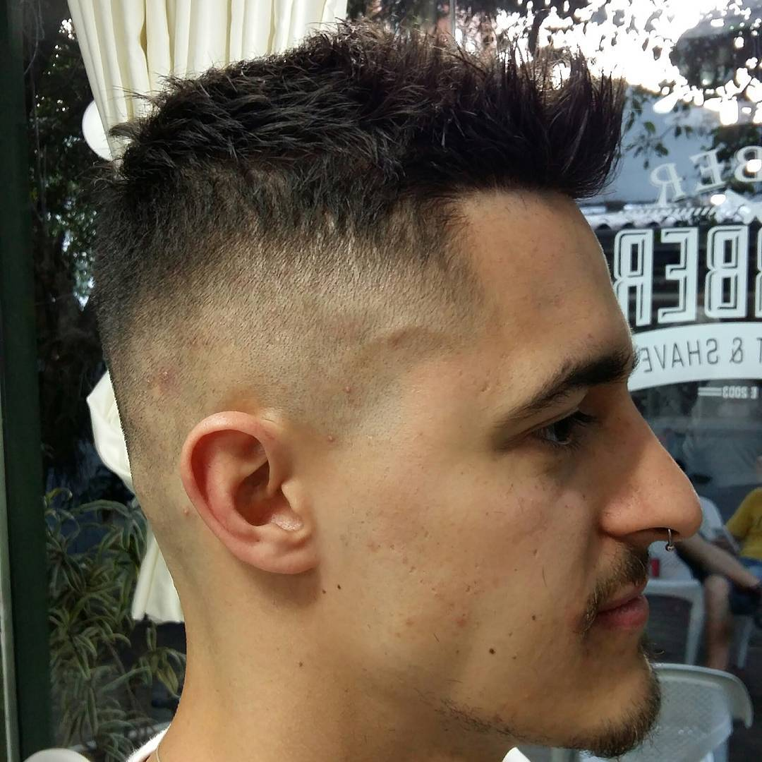 Skin Faded Haircut For Males