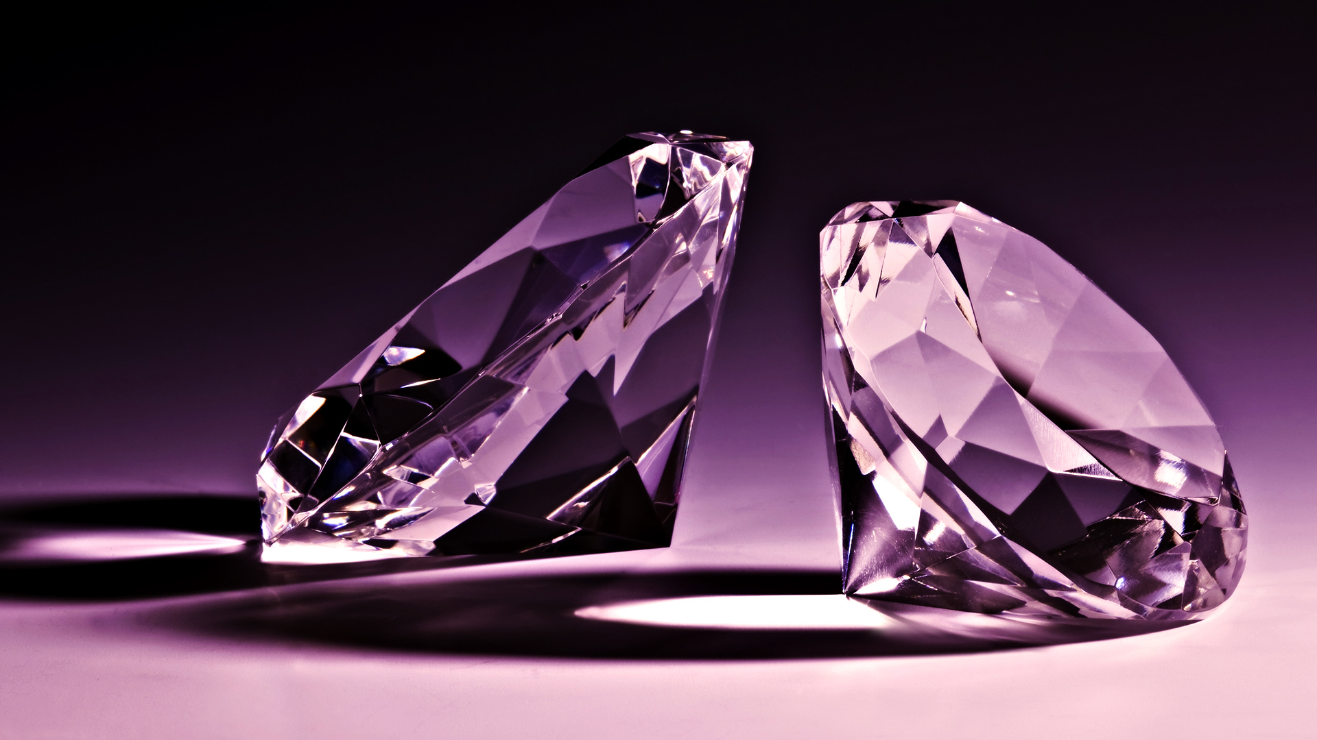 Voilet Crystal Diamond Images