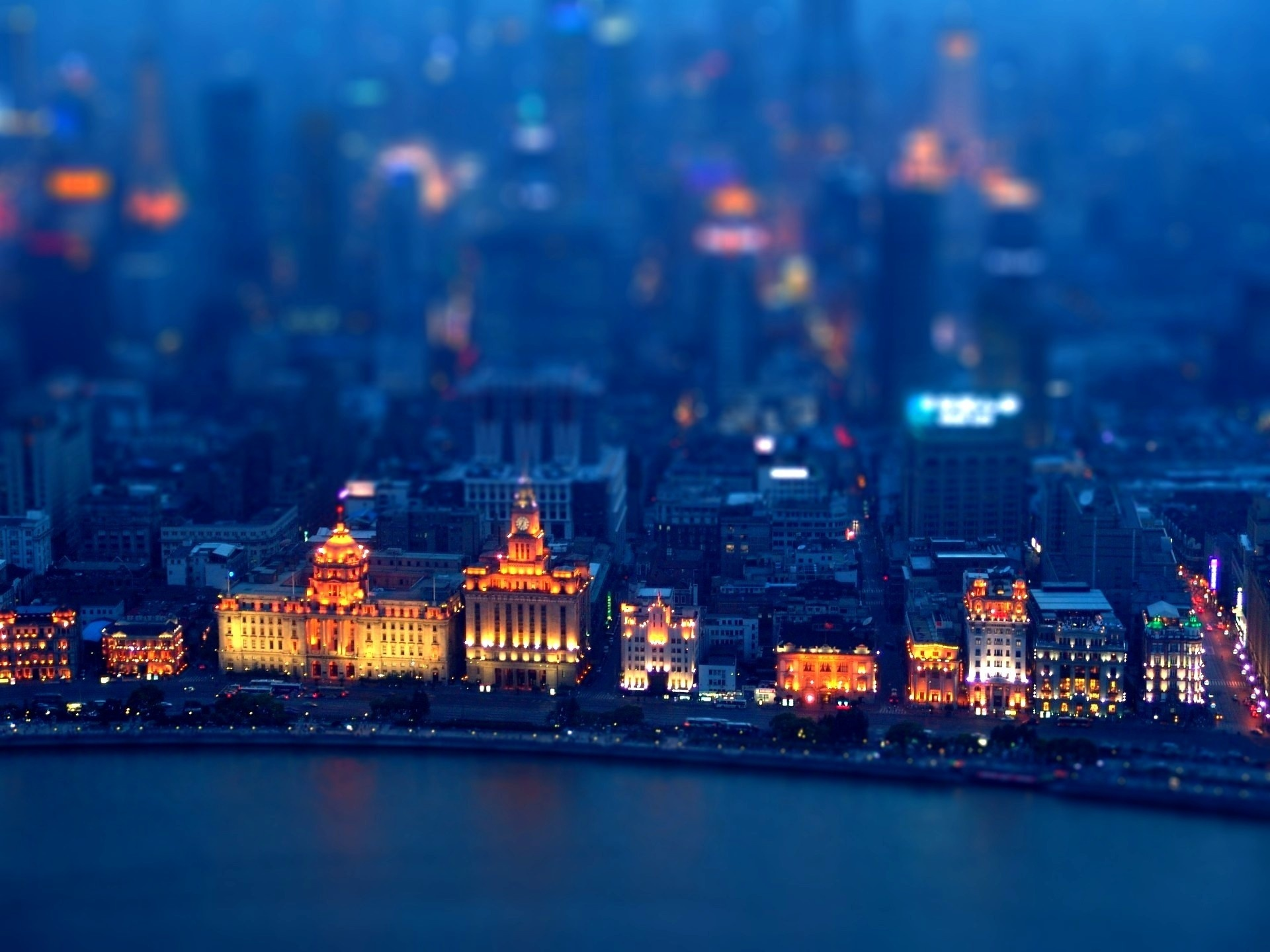 hd tilt shift background