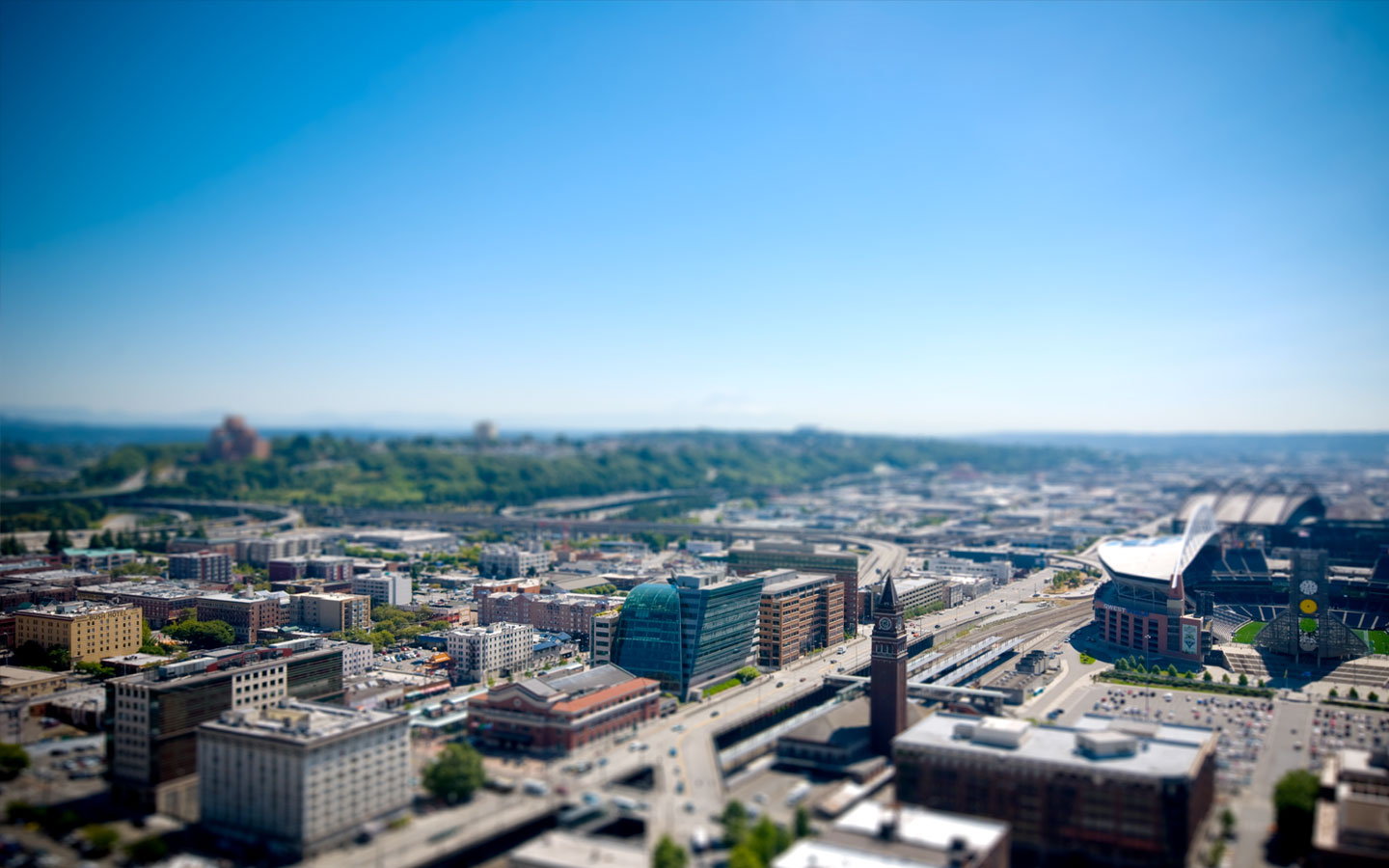 Beautiful Tilt Shift Wallpaper