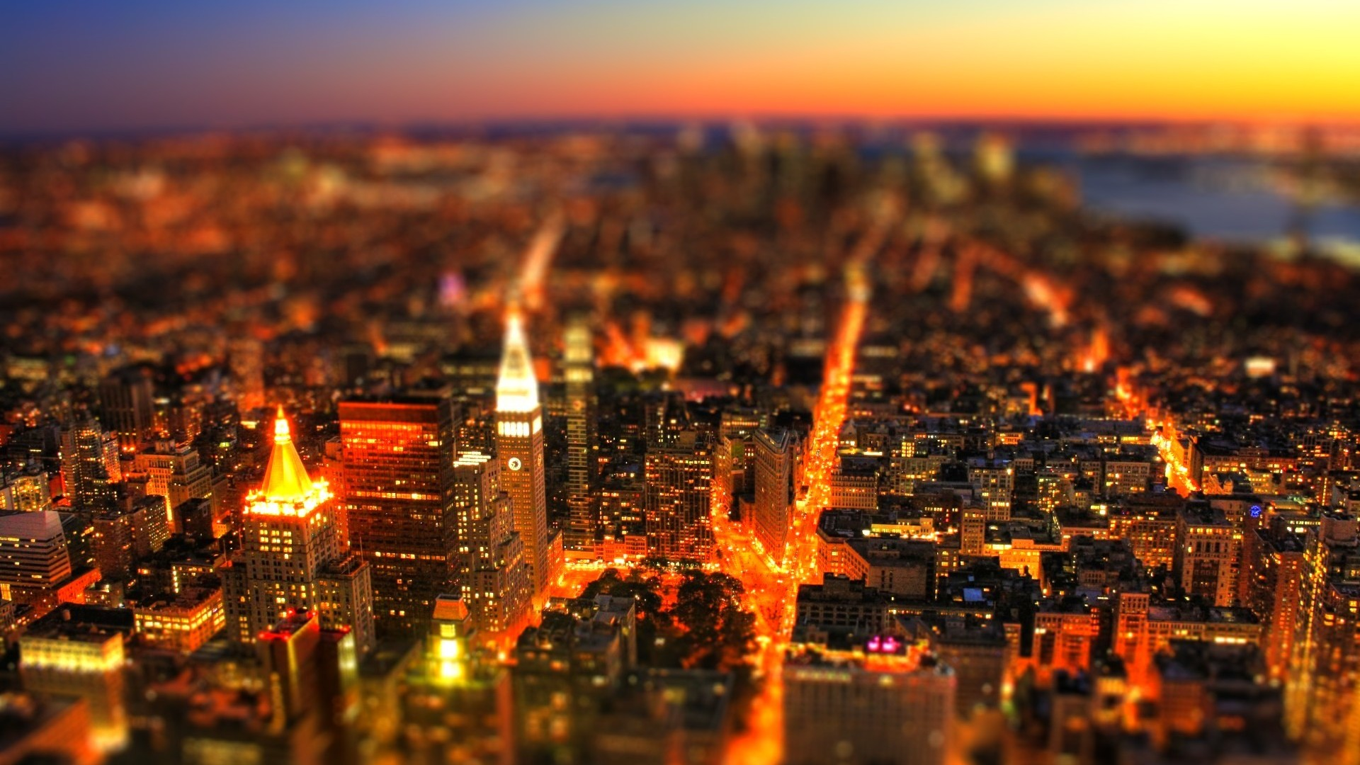 best tilt shift wallpaper