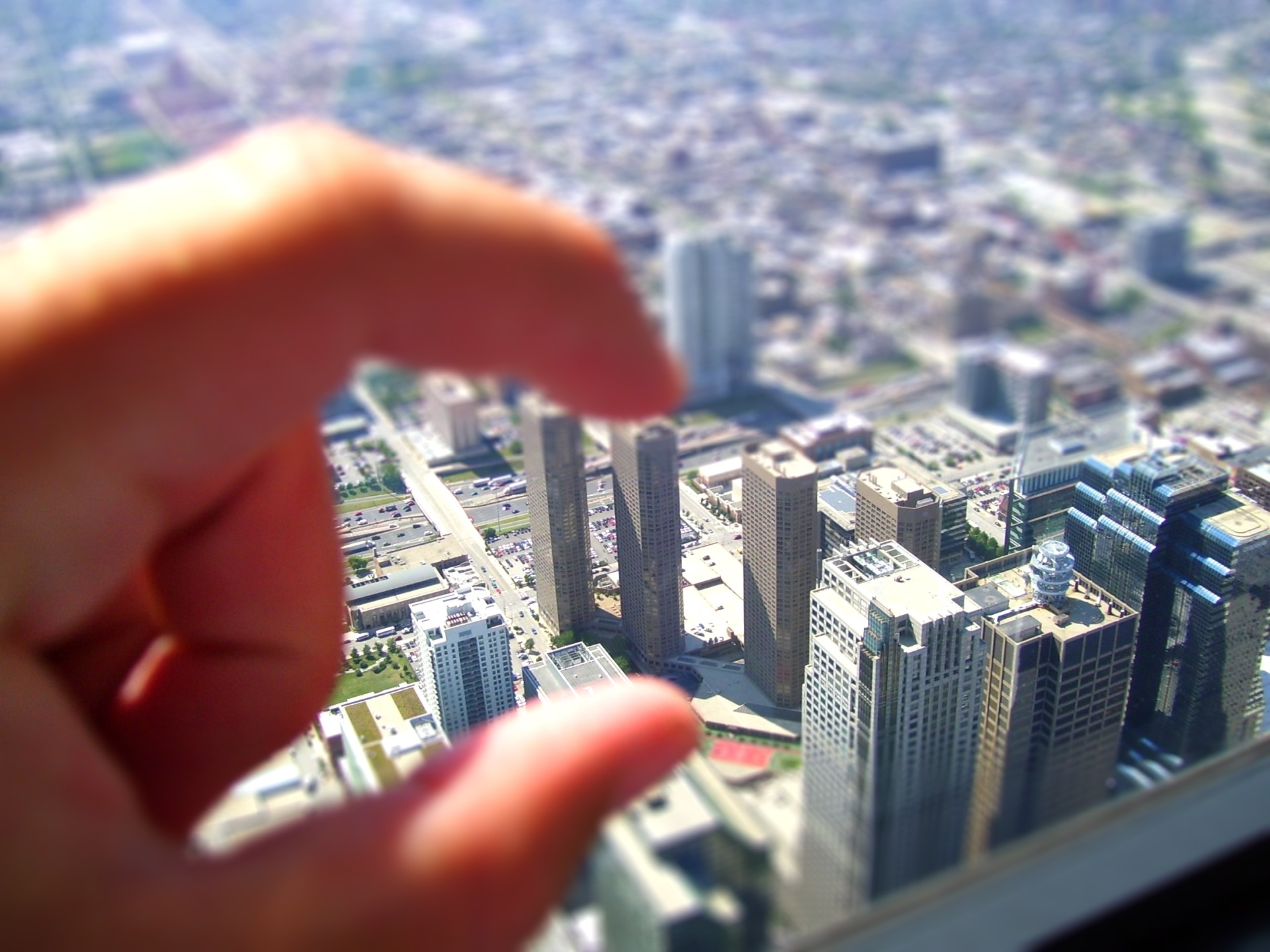 Tilt Shift City Background