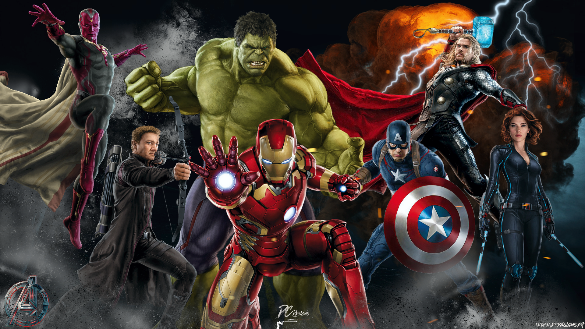 avengers free wallpapers