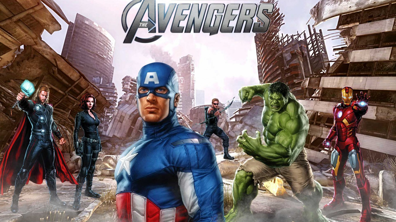 the marvel avengers wallpapers