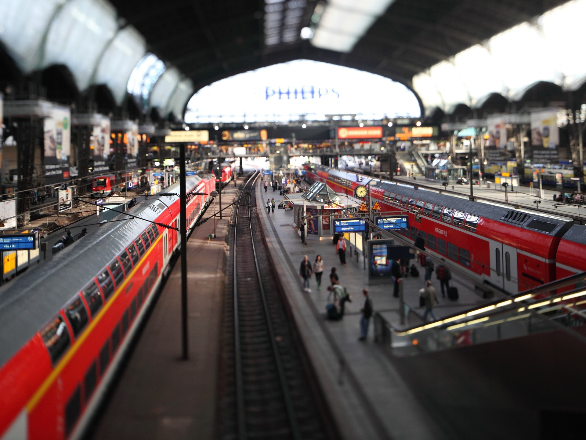 Tilt Shift Wallpaper for Desktop