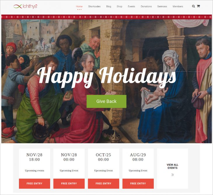 Church, Non-Profit & Charity WordPress Theme