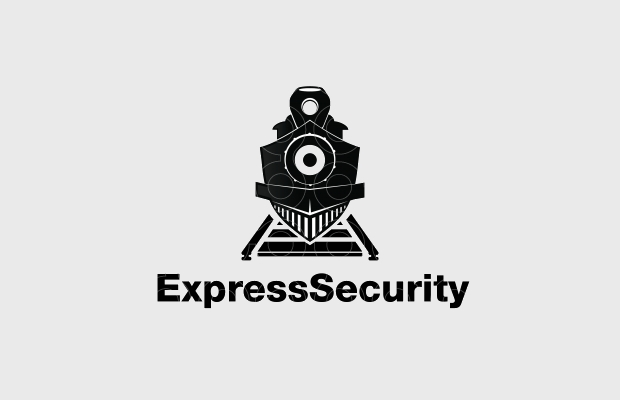 unique train logo design