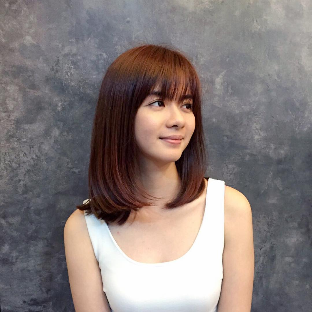 25+ Medium Length Bob Haircut Ideas, Designs | Hairstyles | Design ...