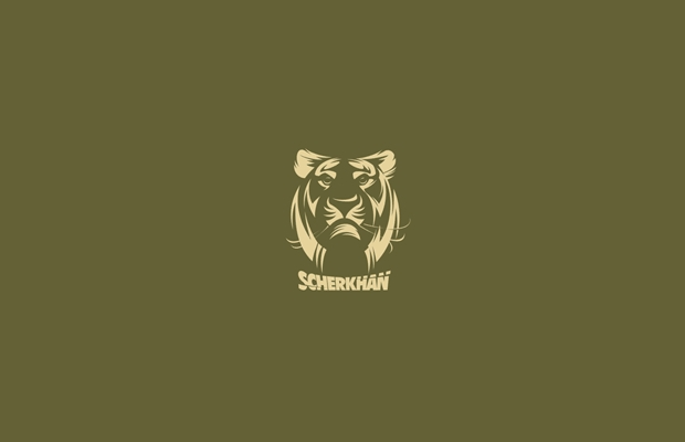 Zoo Tiger Logo Design