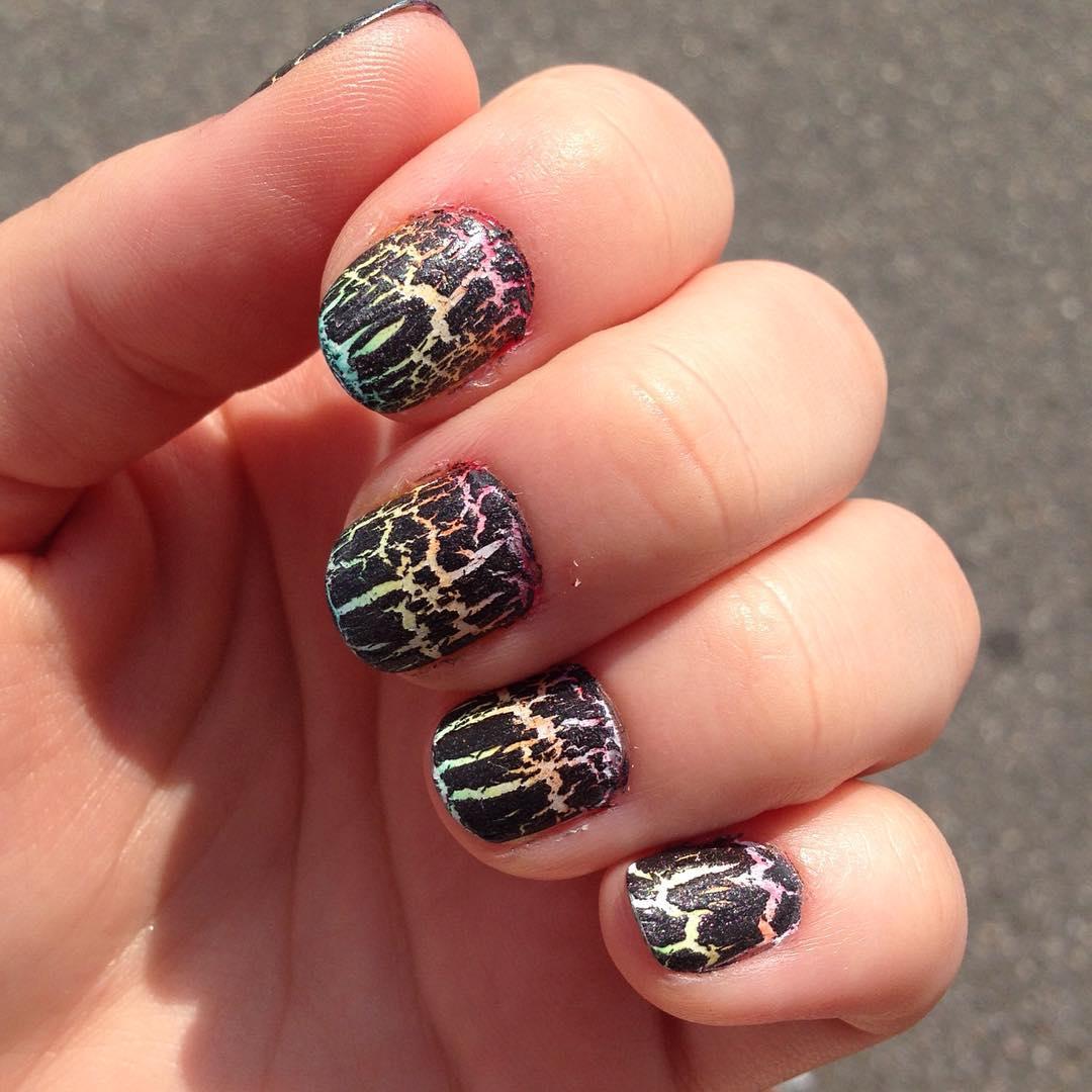 modern design nail art