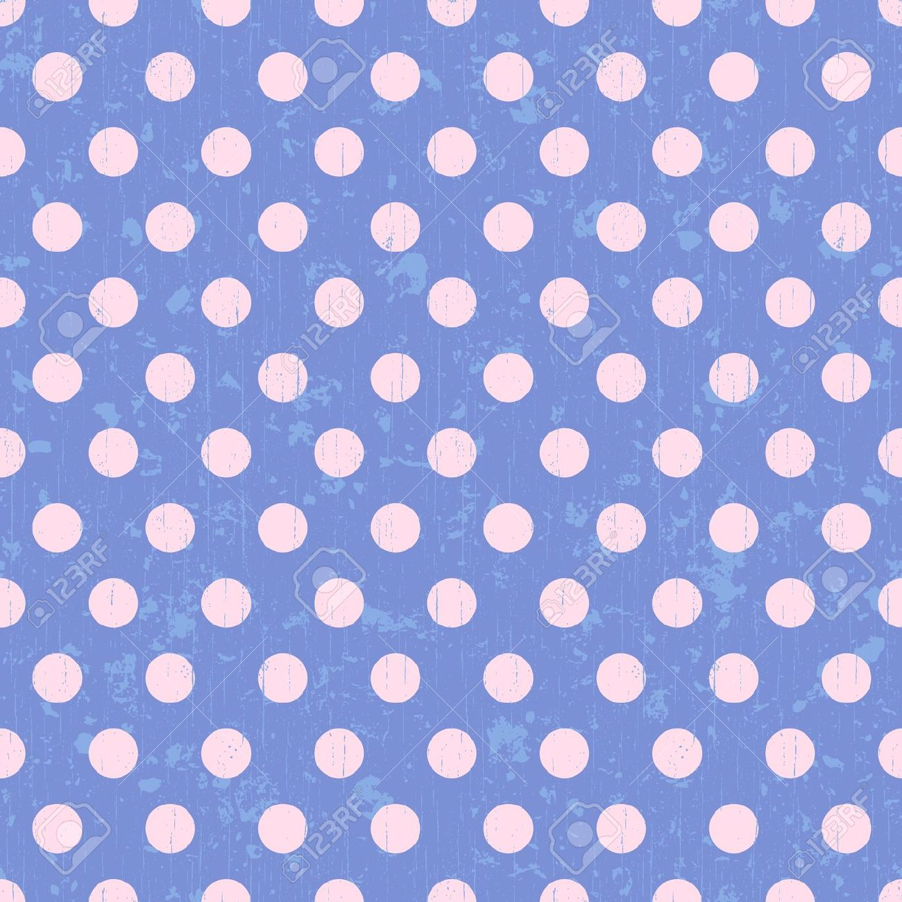 Distressed Polka Pattern