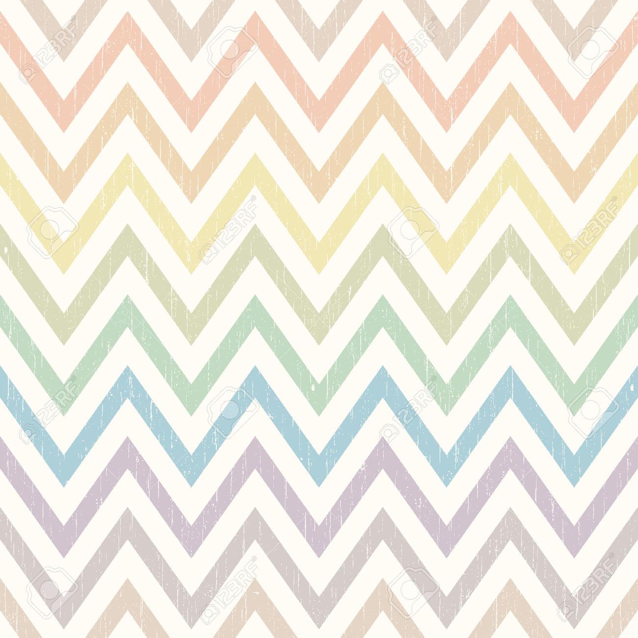chevron distressed pattern