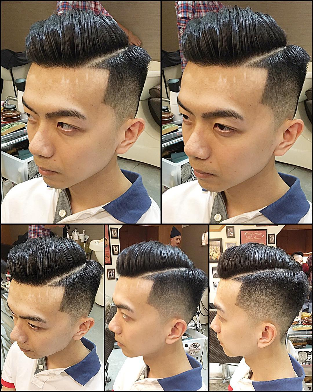 Fabulous Taper Haircut for Boys